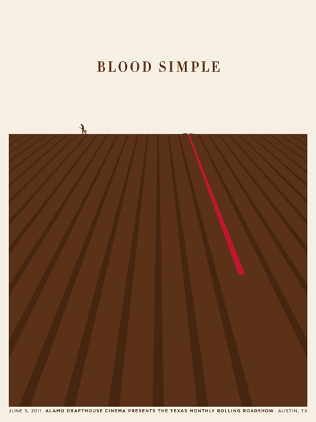 Poster for Blood Simple by Jason Munn
