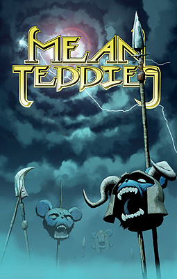 Poster for Mean Teddies