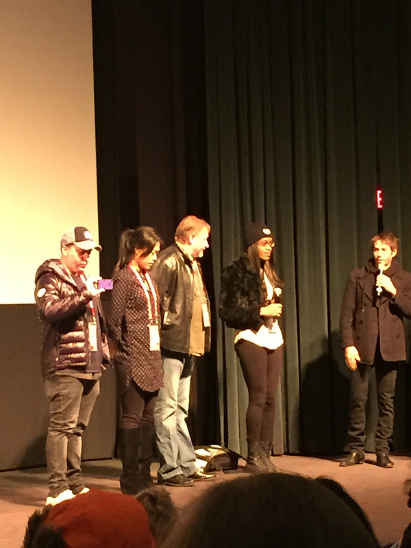 Cast and crew from Tangerine