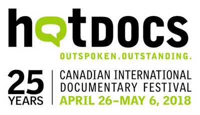 Hot Docs 2018: April 26-May 6, 2018