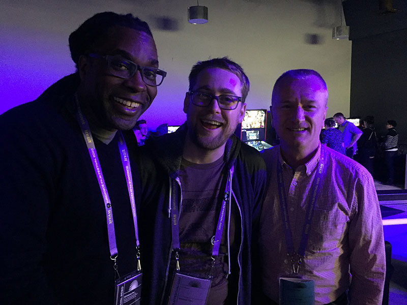 James Faust, Brennan Tilley, James McNally at Sundance 2020